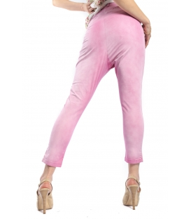 WIYA Jeans boyfriend baggy FUXIA Art. 15065 MADE IN ITALY