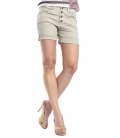 SLIDE OF LIFE Shorts baggy buttons BEIGE art. 8283