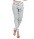 MARYLEY Jeans boyfriend baggy with zip GREY Art. B60T