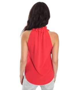 RINASCIMENTO Top with volants RED Art. CFC0068391003