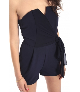 RINASCIMENTO Jumpsuit BLUE waist band Art. CFC0068382003