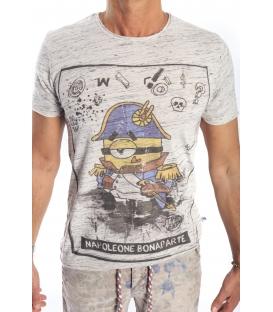 GIANNI LUPO T-shirt stampa MINIONS GRIGIO Art. 1816-20