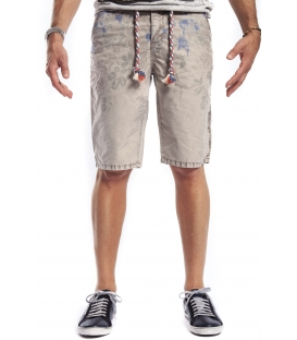 GIANNI LUPO Bermudas with zip FANTASY BEIGE Art. 1257/2