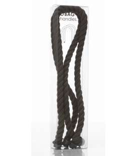 BLACK ROPE LONG HANDLES O'BAG