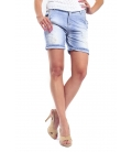 MARYLEY Shorts boyfriend baggy DENIM B51F MADE IN ITALY