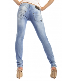 525 by Einstein jeans slim fit con toppe DENIM P554500