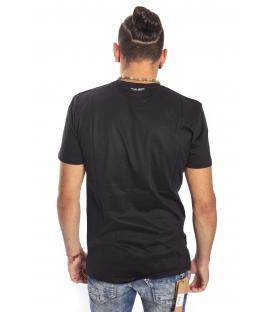 Antony Morato T-shirt with print BLACK MMKS00669