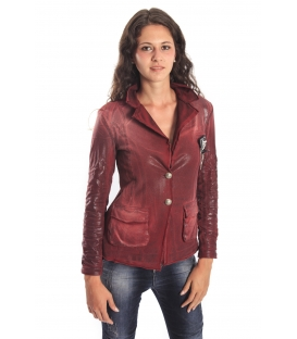 MARYLEY -50% Jacket with brooch BORDEAUX Art. B156/G50
