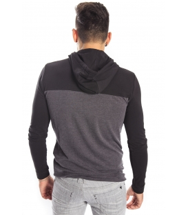 Antony Morato Sweatshirt with hood and logo mmkl00164