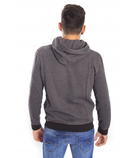 Gaudi Jeans - Sweatshirt with hood GREY 52bu67000