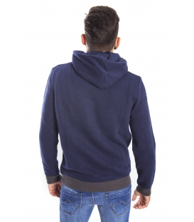 Gaudi Jeans - Sweatshirt with hood BLUE 52bu67000