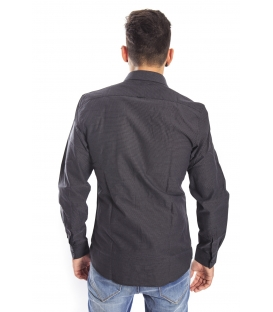 Antony Morato Shirt micro fantasy BLACK mmsl00245