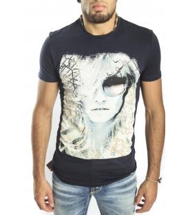 Antony Morato T-shirt with print BLUE mmks00694