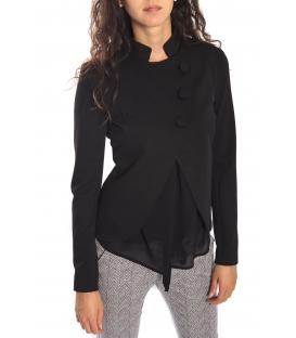 RINASCIMENTO Jacket with buttons BLACK Art. CFC0069676003