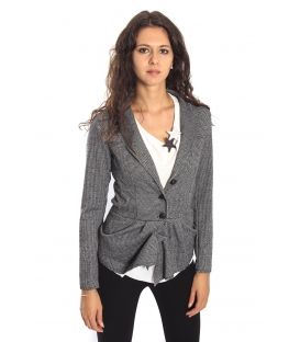 RINASCIMENTO Jacket in fantasy BLACK and WHITE Art. CFC0069933003