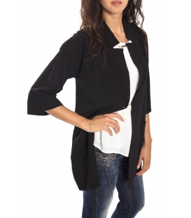 RINASCIMENTO Long jacket BLACK Art. CFC0069680003