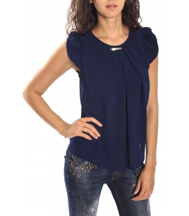 RINASCIMENTO Blouse / Top short sleeve BLUE Art. CFC0069665003