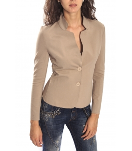 SUSY MIX Jacket with buttons BEIGE Art. 5306