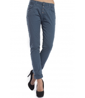 RINASCIMENTO Jeans boyfriend baggy BLU OTTANIO Art. CFC0069976003