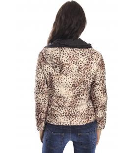 RINASCIMENTO jacket with hood FANTASY BLACK Art. CFC00069282003