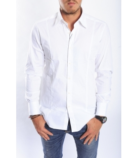 ANTONY MORATO Shirt slim WHITE MMSL00145 NEW