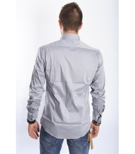 ANTONY MORATO Shirt slim GREY MMSL00145 NEW