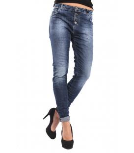 MARYLEY Jeans boyfriend baggy different fabrics DENIM Art. B63M