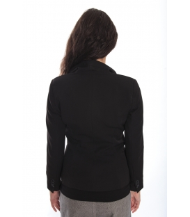 DENNY ROSE Jacket with buttons BLACK 52DR31012S
