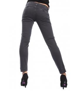 J-CUBE Pantaloni cinos slim fit fantasy col. ACCIAIO Art. JC144