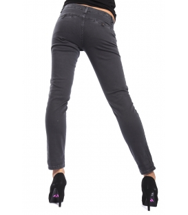 J-CUBE Pantaloni cinos slim fit col. ACCIAIO Art. JC112