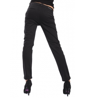 J-CUBE Pants cinos slim fit col. BLACK Art. JC112