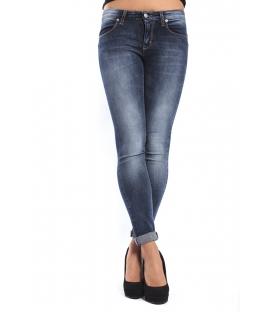 J-CUBE Jeans slim fit with zip col. DENIM Art. JC156