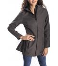 HOMEWARD Long Jacket with zip col. DARK GREY/BLACK Art. HLC360