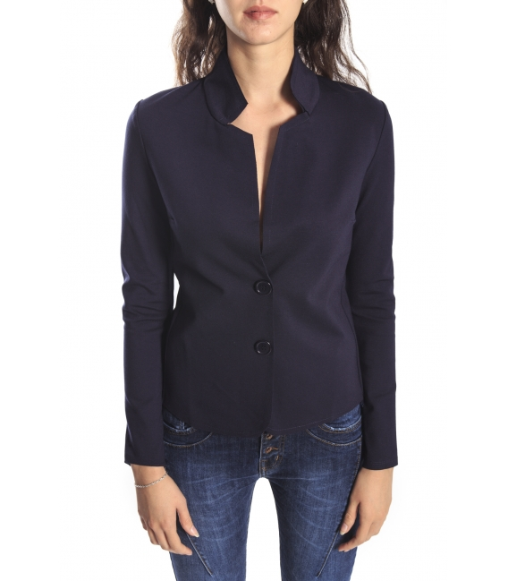 SUSY MIX Jacket with buttons BLUE Art. 5306