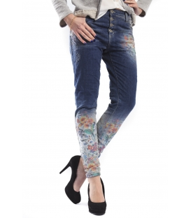 MARYLEY jeans boyfriend 4 buttons DENIM B615 SPRING/SUMMER 2015 MADE IN ITALY