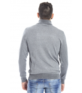 DIKTAT Sweater with neck GREY Art. D77091