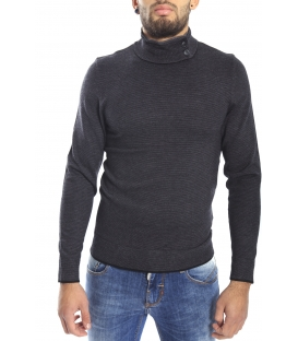 DIKTAT Sweater with buttons GREY Art. D77088