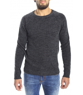 DIKTAT Sweater crew-neck GREY Art. D77032