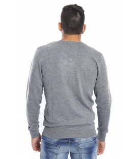 DIKTAT Sweater with v-neck GREY Art. D77080