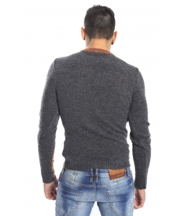 DIKTAT Sweater crew-neck COLORS D77046 made in Italy