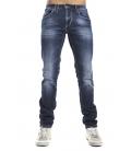 GRAFFIO Jeans con bottoni DARK DENIM Art. WGU62