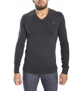 Antony Morato Sweater with V-neck GRIGIO MELANGE MMSW00449