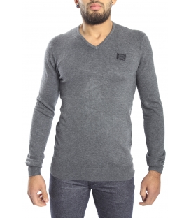 Antony Morato Sweater with V-neck GRIGIO MMSW00449