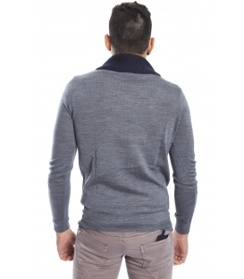 Antony Morato Sweater with neck detail GRIGIO MELANGE MMSW00501