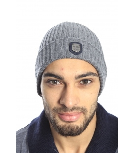 Antony Morato Hat with logo in cotton GREY MMHA00103
