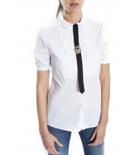 ALMAGORES Shirt with short sleeve WHITE Art. 541AL40400