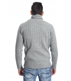 GRAFFIO Sweater with neck GREY Art. WGU129