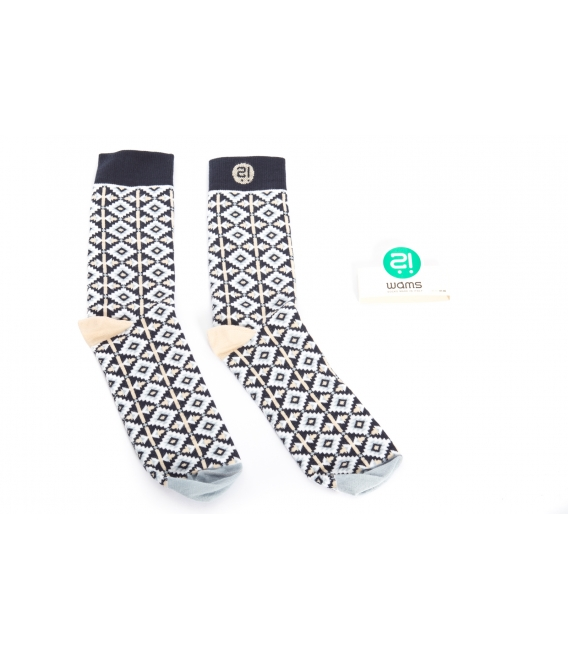 WAMS Socks in fantasy WC8 Size 41-46 MADE IN ITALY
