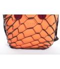 Cover Rete Pelle Nero per Fullspot O'Bag Mini