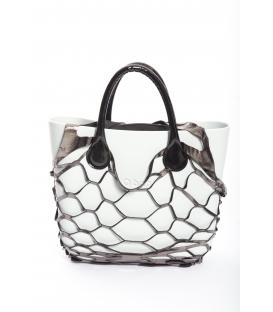 Fullspot O'Bag Mini borsa completa Neve con cover rete Grigio